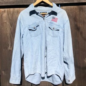 Vintage Americana Denim/Chambray Button Up